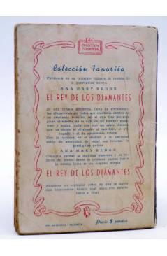 Contracubierta de COLECCIÓN FAVORITA 52. LA ÚLTIMA JUGADA (Dagora) Valenciana Circa 1960