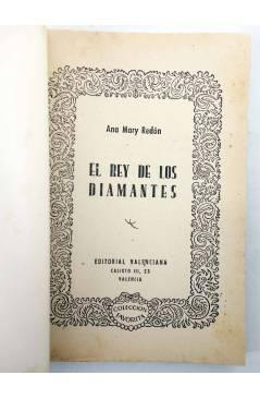 Muestra 1 de COLECCIÓN FAVORITA 53. EL REY DE LOS DIAMANTES (Ana Mary Redón) Valenciana Circa 1960