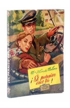 Cubierta de COLECCIÓN FAVORITA 54. ¡EL PARAÍSO ERES TÚ! (Mª Pilar De Molina) Valenciana Circa 1960