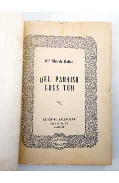 Muestra 1 de COLECCIÓN FAVORITA 54. ¡EL PARAÍSO ERES TÚ! (Mª Pilar De Molina) Valenciana Circa 1960