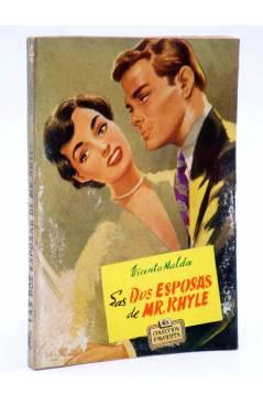 Cubierta de COLECCIÓN FAVORITA 55. LAS DOS ESPOSAS DE MR. RHYLE (V. Nalda Calabozo) Valenciana Circa 1960