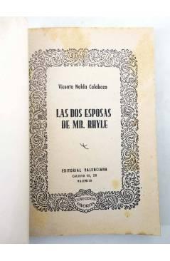Muestra 1 de COLECCIÓN FAVORITA 55. LAS DOS ESPOSAS DE MR. RHYLE (V. Nalda Calabozo) Valenciana Circa 1960