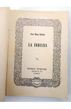 Muestra 1 de COLECCIÓN FAVORITA 56. LA INDIANA (Ana Mary Redón) Valenciana Circa 1960