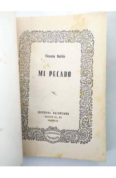 Muestra 1 de COLECCIÓN FAVORITA 57. MI PECADO (Vicenta Nalda Calabozo) Valenciana Circa 1960