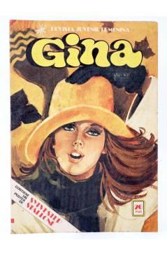Cubierta de GINA REVISTA JUVENIL FEMENINA 27. POSTER DE SYLVESTER STALLONE (Vvaa) Bruguera 1978