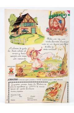 Contracubierta de GINA REVISTA JUVENIL FEMENINA 28. POSTER DE BACCHELLI (Vvaa) Bruguera 1978