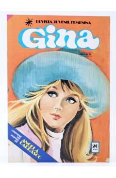 Cubierta de GINA REVISTA JUVENIL FEMENINA 30. POSTER DE ANGELA CARRASCO (Vvaa) Bruguera 1978
