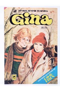 Cubierta de GINA REVISTA JUVENIL FEMENINA 32. POSTER DE DAVID ESSEX (Vvaa) Bruguera 1978
