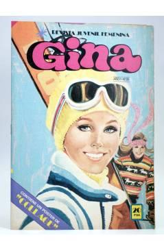 Cubierta de GINA REVISTA JUVENIL FEMENINA 35 (Vvaa) Bruguera 1978