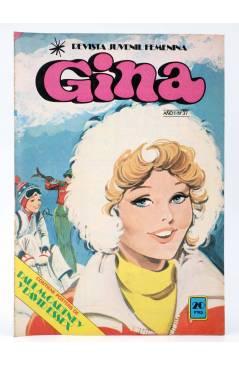 Cubierta de GINA REVISTA JUVENIL FEMENINA 37. POSTER PAUL McCARTNEY Y DAVID ESSEX (Vvaa) Bruguera 1979