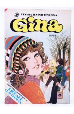 Cubierta de GINA REVISTA JUVENIL FEMENINA 38. POSTER DE RICHARD CLAYDERMAN (Vvaa) Bruguera 1979