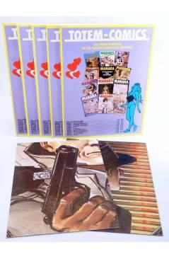 Contracubierta de DETECTIVE STORY DICK TRACY 1 A 5. COMPLETA (Vvaa) New Comic 1989