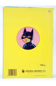 Contracubierta de JOYAS LITERARIAS FEMENINAS 107. CATY LA CHICA GATO. LA PERSECUCIÓN DEL ÁGUILA. Bruguera 1985