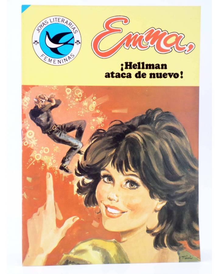 Cubierta de JOYAS LITERARIAS FEMENINAS 101. EMMA. ¡HELLMAN ATACA DE NUEVO!. Bruguera 1984