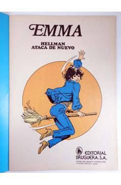 Muestra 1 de JOYAS LITERARIAS FEMENINAS 101. EMMA. ¡HELLMAN ATACA DE NUEVO!. Bruguera 1984