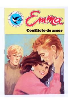 Cubierta de JOYAS LITERARIAS FEMENINAS 105. EMMA. CONFLICTO DE AMOR. Bruguera 1985
