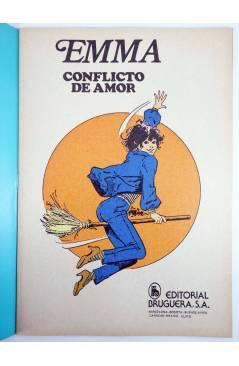 Muestra 1 de JOYAS LITERARIAS FEMENINAS 105. EMMA. CONFLICTO DE AMOR. Bruguera 1985