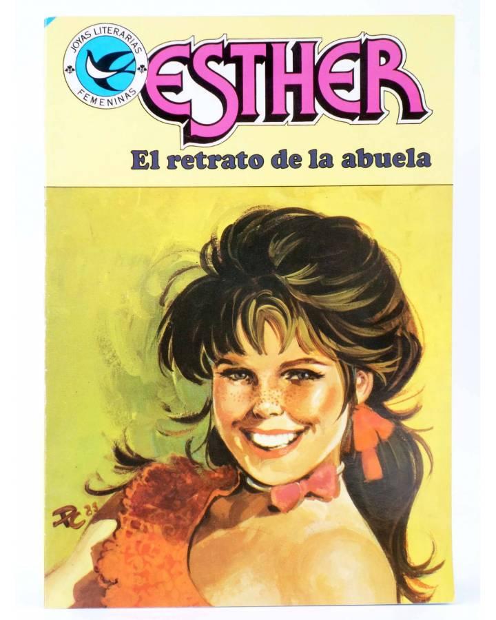 Cubierta de JOYAS LITERARIAS FEMENINAS 100. ESTHER. EL RETRATO DE LA ABUELA. Bruguera 1984