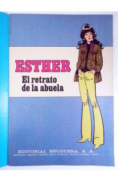 Muestra 1 de JOYAS LITERARIAS FEMENINAS 100. ESTHER. EL RETRATO DE LA ABUELA. Bruguera 1984