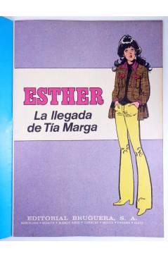 Muestra 1 de JOYAS LITERARIAS FEMENINAS 103. ESTHER. LA LLEGADA DE TÍA MARGA. Bruguera 1984