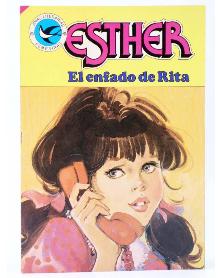 Cubierta de JOYAS LITERARIAS FEMENINAS 106. ESTHER. EL ENFADO DE RITA. Bruguera 1985