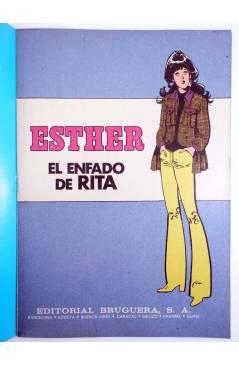 Muestra 1 de JOYAS LITERARIAS FEMENINAS 106. ESTHER. EL ENFADO DE RITA. Bruguera 1985