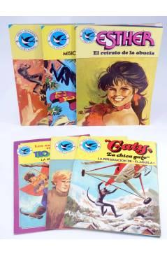 Cubierta de JOYAS LITERARIAS FEMENINAS. LOTE DE 6 (Vvaa) Bruguera 1984