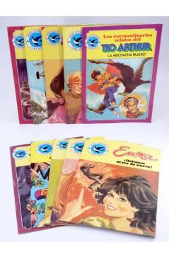Cubierta de JOYAS LITERARIAS FEMENINAS 98 A 101 103 A 108. LOTE DE 10 (Vvaa) Bruguera 1984