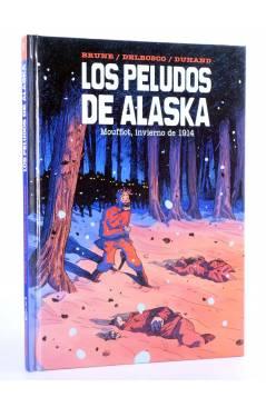 Cubierta de LOS PELUDOS DE ALASKA (Brune / Delbosco / Duhand) Spaceman Books 2015