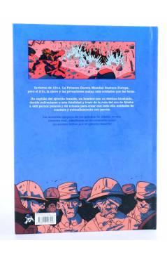 Contracubierta de LOS PELUDOS DE ALASKA (Brune / Delbosco / Duhand) Spaceman Books 2015
