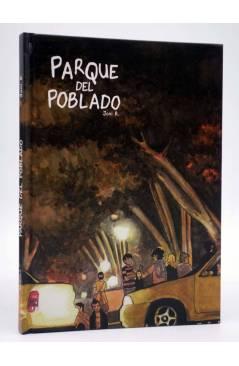 Cubierta de EL PARQUE DEL POBLADO (Joni B.) Spaceman Books 2015