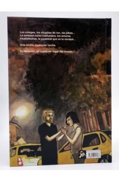 Contracubierta de EL PARQUE DEL POBLADO (Joni B.) Spaceman Books 2015