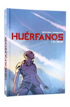 Cubierta de HUÉRFANOS 1. EL INICIO (Recchioni / Mammucari) Spaceman Books 2015