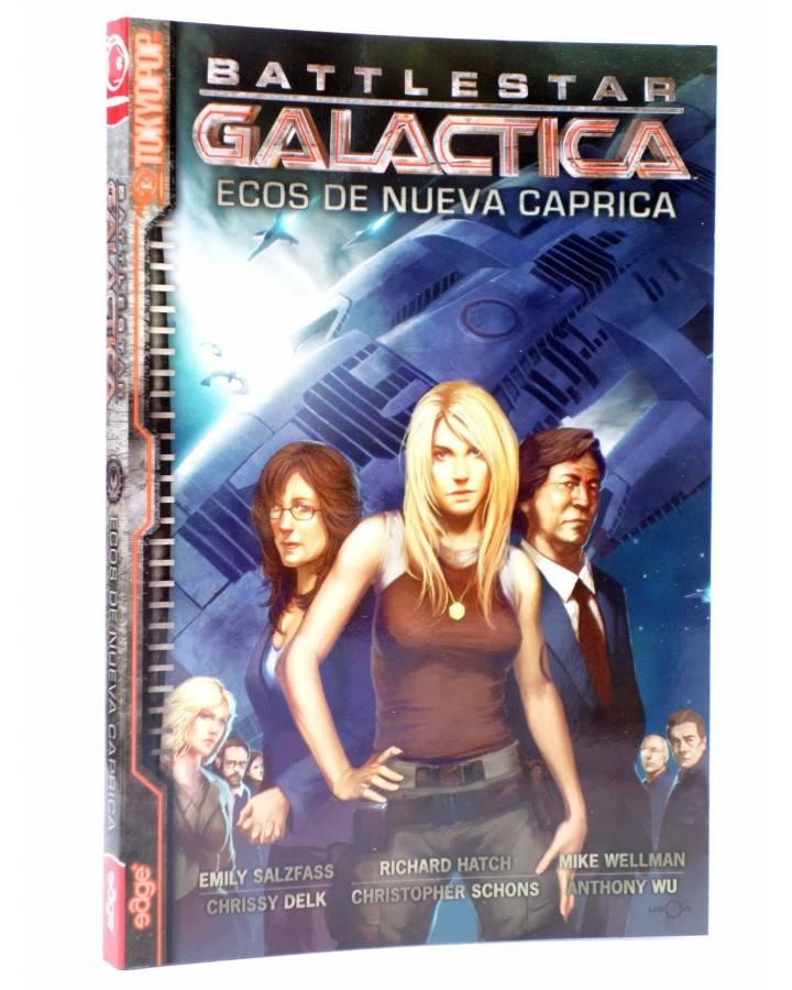 Cubierta de BATTLESTAR GALACTICA. ECOS DE NUEVA CAPRICA (Salzfass / Delk / Hatsh) Edge 2009