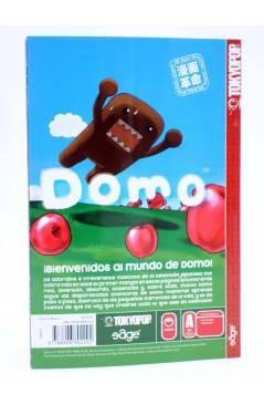 Contracubierta de DOMO EL MANGA (Tsuneo Goda / Bickam / Rem / Leong) Edge 2009