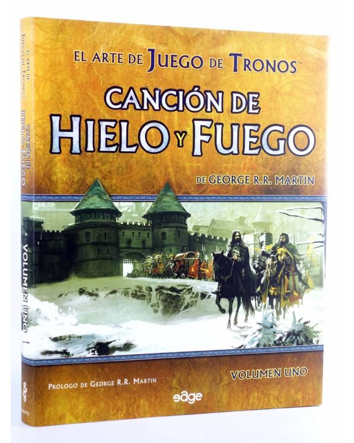 Cubierta de EL ARTE DE JUEGO DE TRONOS 1. CANCIÓN DE HIELO Y FUEGO (George R.R. Martin) Edge 2011