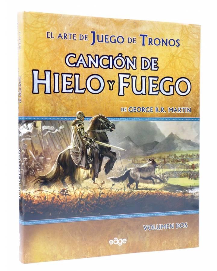 Cubierta de EL ARTE DE JUEGO DE TRONOS 2. CANCIÓN DE HIELO Y FUEGO (George R.R. Martin) Edge 2011