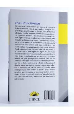 Contracubierta de UNA LUZ SIN SOMBRAS (Luce Deperon) Circe 2001