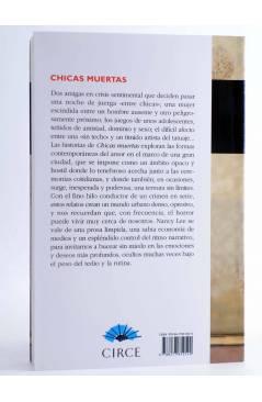 Contracubierta de CHICAS MUERTAS (Nancy Lee) Circe 2007