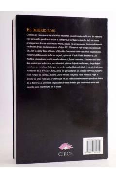Contracubierta de EL IMPERIO ROJO. MOSCU-PEKÍN 1919-1989 (Patrick Lescot) Circe 2000
