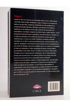 Contracubierta de VIOLET. VIDA Y AMORES DE VIOLET GORDON WOODHOUSE (Jessica Douglas-Home) Circe 1998