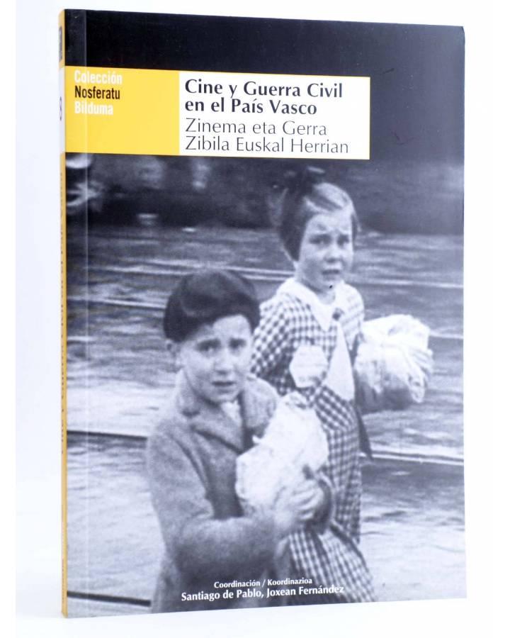 Cubierta de NOSFERATU 8. CINE Y GUERRA CIVIL EN EL PAÍS VASCO (Vvaa) Donostia Kultura 2012