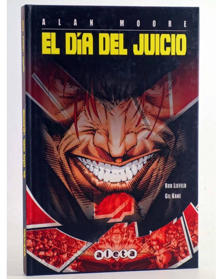 Cubierta de EL DÍA DEL JUICIO (Alan Moore / Rob Liefeld / Gil Kane) Aleta 2012