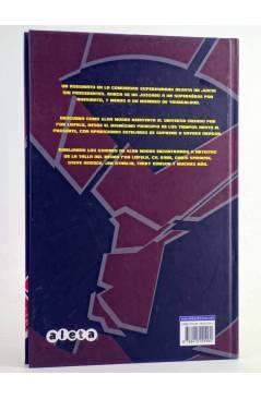 Contracubierta de EL DÍA DEL JUICIO (Alan Moore / Rob Liefeld / Gil Kane) Aleta 2012