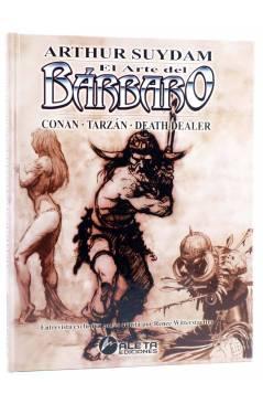 Cubierta de EL ARTE DEL BÁRBARO. CONAN TARZÁN DEATH DEALER (Arthur Suydam) Aleta 2005