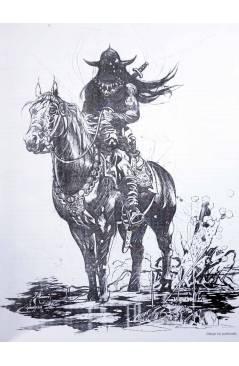 Muestra 2 de EL ARTE DEL BÁRBARO. CONAN TARZÁN DEATH DEALER (Arthur Suydam) Aleta 2005