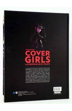 Contracubierta de COVER GIRLS. LAS HEROÍNAS DE DC COMICS (Louise Simonson) Laberinto 2016