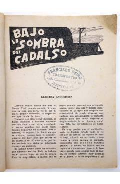Muestra 2 de EL ENCAPUCHADO 28. BAJO LA SOMBRA DEL CADALSO (G. L. Hipkiss) Cliper 1947