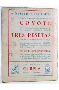 Contracubierta de EL ENCAPUCHADO 36. EL DILEMA DE GRIMM (G. L. Hipkiss) Cliper 1947