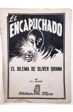 Muestra 1 de EL ENCAPUCHADO 36. EL DILEMA DE GRIMM (G. L. Hipkiss) Cliper 1947